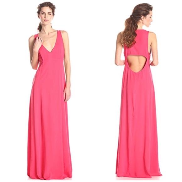 fd1de1de2de7 BB Dakota Dresses | Nwt Coral Cutout Back Maxi Dress 6 | Poshmark
